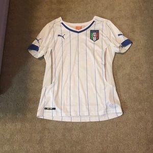 Puma Italia soccer jersey